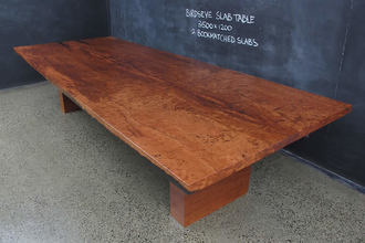 Box Base Dining Table