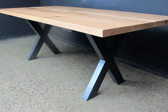 Crossed Leg Table