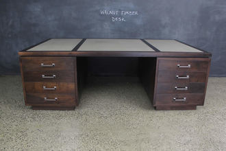 American Walnut Timber Desk