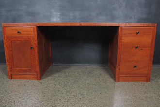 Redgum Timber Desk