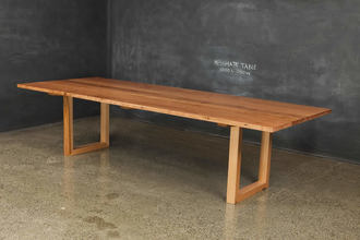 Recycled Messmate U Base Table