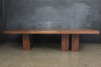 American Walnut Timber Dining Table