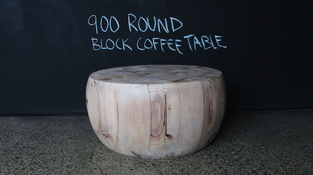Round Butchers Block Coffee Table Christian Cole Furniture - Round block coffee table