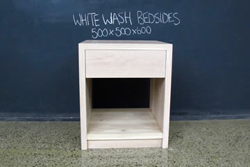White Wash Bedsides